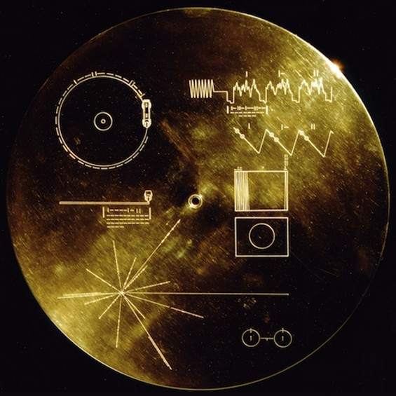 Voyager's The Sounds of Earth, recordings from which will be played at the S.F. Tape Music Festival.