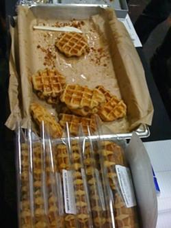 Waffles from Angry Man Eats. - ANGRY MAN EATS