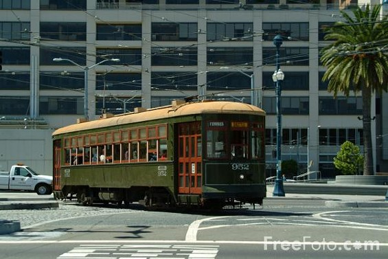 Wanna rent this trolley out? Better hurry...