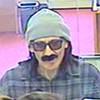 Awkward Bank Robber Loses Fake Mustache During Holdup