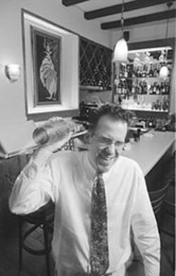 ANTHONY  PIDGEON - Warmth and Elegance: Nasturtium's bartender, Simon.
