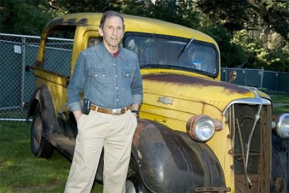 Warren Hellman at Hardly Strictly Bluegrass - JAY BLAKESBERG