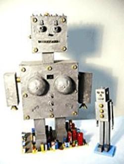 "Warren Jee's Girlbot and Boybot in - ""Don't Call Me Retard."""