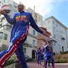 Watch The Harlem Globetrotters Traverse Lombard Street (VIDEO)