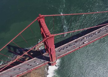 Watch This Beautiful Drone Footage of the Golden Gate Bridge
