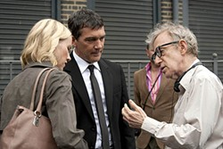 Watts, Banderas, and Allen: The director is rescued by his great ensemble cast.