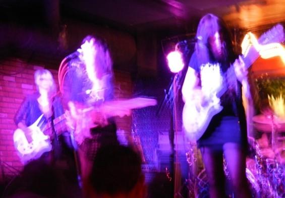 Wax Idols at Bottom of the Hill last night.