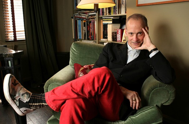 We can't even really imagine John Waters hanging out on a sunny day in the park. But it's happening!