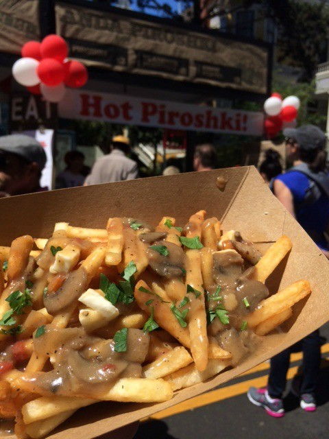 We wouldn't know if the Russian leader would enjoy this poutine, but we did.