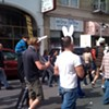 Weekend 'Anti-War' Protest Brings Out The Crazies