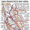 Urbane's Creatively Titled Map of the Bay Area