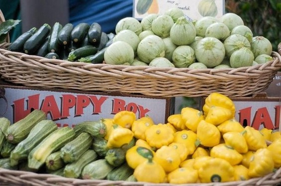 When it comes to squash, summer never seems to end. - SEAN TIMBERLAKE