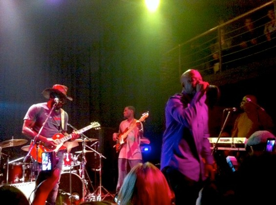 When last we saw Too $hort: Live with band at the New Parish, 2012.