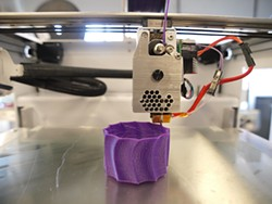 MIKE KOOZMIN - When tech is used for good: S.F. company Type A's 3D printer.