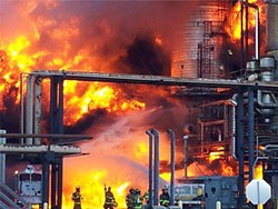 "U.S. CHEMICAL SAFETY AND HAZARD INVESTIGATION BOARD - ""When things go bump in the night,"" says Sam Singer, ""we are there."" As was the case when Chevron's Richmond refinery exploded in 2012, they're also there when things go boom in the day."