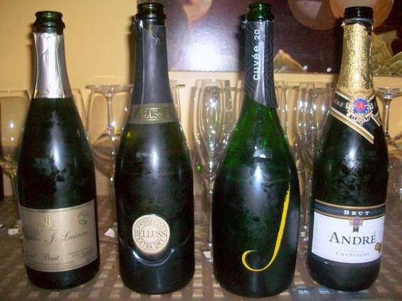 "Which of these bottles should you drink at 9 o'clock in the morning? ""All"" is not the proper answer. - BRANT FOEHL"