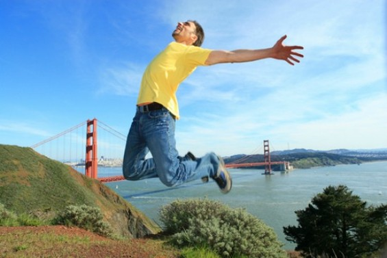 White men can jump. - SHUTTERSTOCK/ KONSTANTIN SUTYAGIN