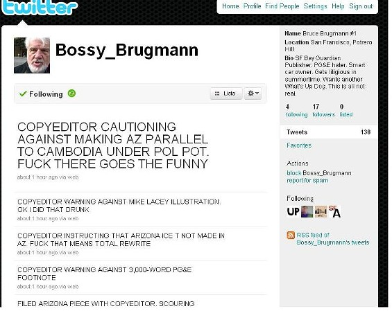 Who's behind @Bossy_Brugmann?