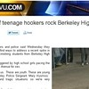 Reports of Prostitution Referrals from Berkeley High School Hyped - But By Whom?