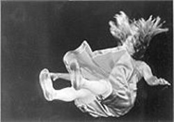 JAMIE  KIBBEN - Wide-Eyed Enthusiasm: Nancy Shelby as Marta, the Falling Girl.