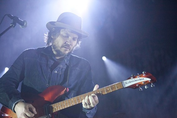 Wilco at the Warfield last night. - JOSEPH SCHELL