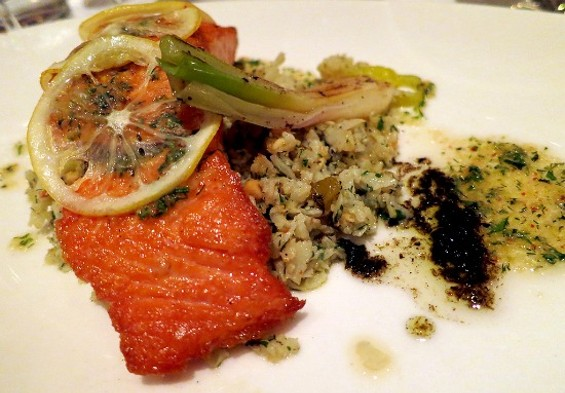 Wild salmon at Mason Pacific. - THE DAPPER DINER