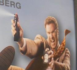Will Ferrell, sans firearm