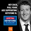 Facebook Pisses-Off Local Environmentalists With Keystone XL Ads