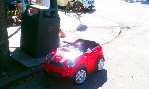Will probably get a teeny tiny parking ticket soon enough - JOE ESKENAZI