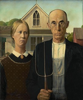 Will you need to look like this to live in federal housing? - GRANT WOOD