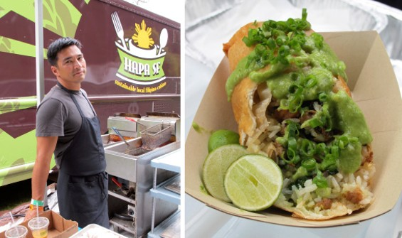 "William Pilz and the ""secret"" Deep-Fried Sisig Burrito - LOU BUSTAMANTE"