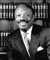 Willie Brown, back when he and his potential namesake bridge were on the younger side - JOE ESKENAZI