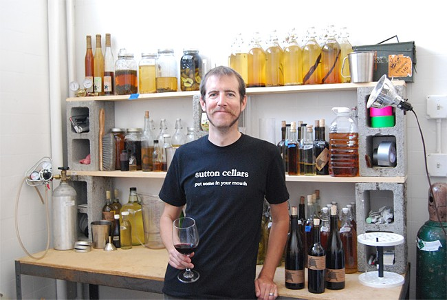 Winemaker+Carl+Sutton+recently+moved+his+14-year+Sutton+Cellars+from+Sonoma+to+Dogpatch.