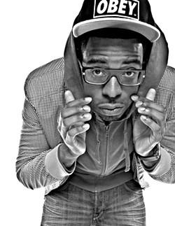 Winning high school rap battles won't make him famous, but maybe cool glasses will.