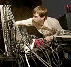 Wired: Tadd Mullinix and his three-ring - circuits.