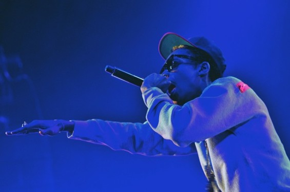 Wiz Khalifa at Bill Graham Civic last night. All photos by Calibree Photography.