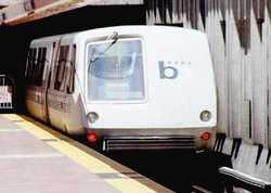 Woman unleashes on man at BART