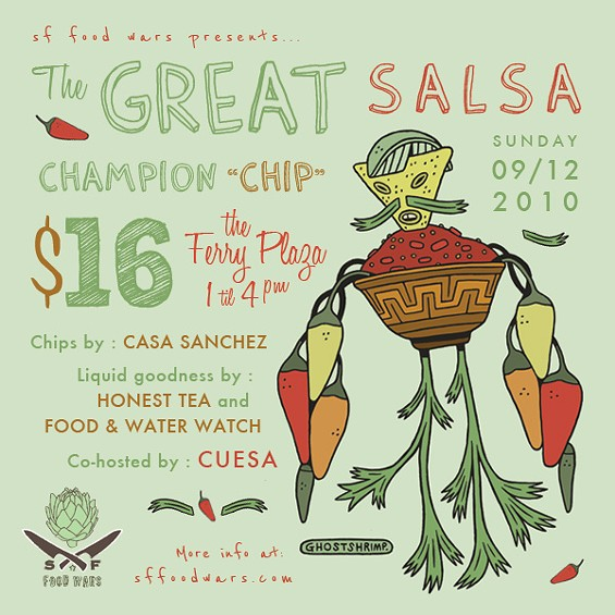 Would-be competitors, sign up now. Tickets go on sale Monday. - SF FOOD WARS