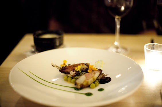 Would Commonwealth's marrow-stuffed squid have played as well five years ago? - LARA HATA