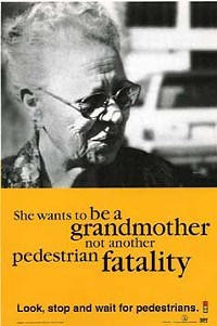 Would you want your grandmother crossing that street?