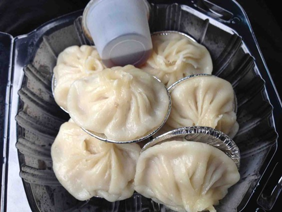 Xiao Long Bao Shop's namesake soup dumplings. - TAMARA PALMER