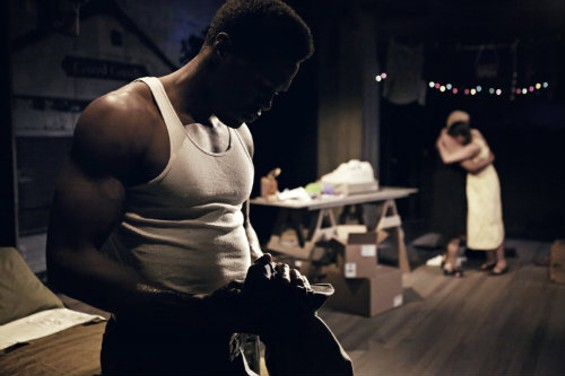 Yahya Abdul-Mateen II burns with midcentury intensity in a new old-school play. - PAK HAN