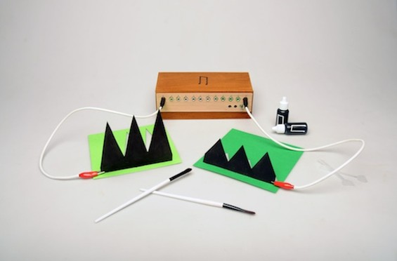 Yep: a musical instrument fashioned out of paper.