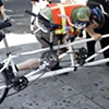 Media War: Blogger Criticizes Mainstream Media Worker's Bicycle. Ahhhh -- It's On!