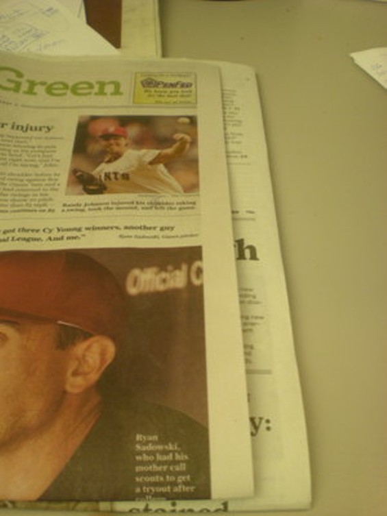 Yes, today's new Chronicle is more than an inch thinner than its prior incarnation