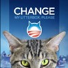 Bay Area Cat Craps in Litter Box Marked With Mitt Romney's Name