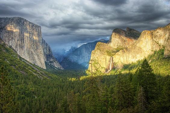 Yosemite pre-Rim Fire - FLICKR/MSAUDER