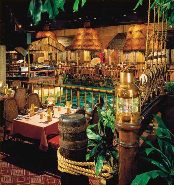 You and I are passing through history. But the Tonga Room? It is history.