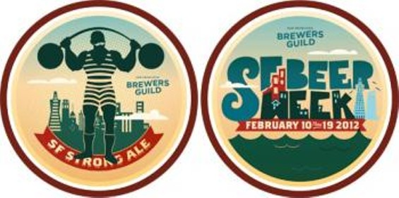 You can win badges for drinking. - SF BEER WEEK