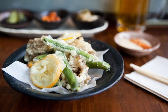 You want to get with Nojo's tempura? OpenTable won't hook you up. - JEN SISKA